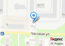 Компания «Авиакасса» на карте