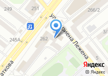 Компания «Общежитие НГАУ» на карте