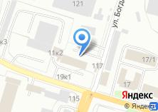 Компания «ТехНова» на карте