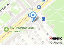 Компания «Автосервис на проспекте Дзержинского» на карте