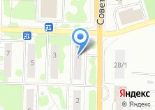 Компания «Сактон» на карте