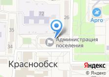 Компания «Краснообск-недвижимость» на карте