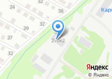 Компания «Крепость торгово-производственная компания» на карте