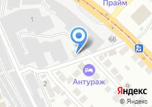 Компания «Инстик» на карте
