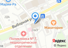 Компания «ДвериЦентр» на карте
