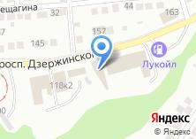 Компания «Шиномонтажная мастерская на проспекте Дзержинского» на карте