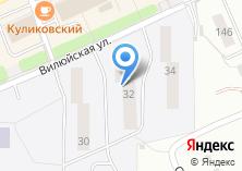 Компания «Общежитие НГПУ» на карте