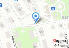 Компания «Белокаменный» на карте