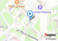 Компания «Ханты-Мансийский банк Открытие» на карте