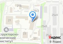 Компания «Каркас» на карте
