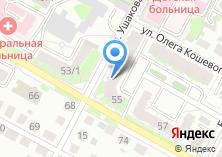 Компания «Единая Служба геодезии и кадастра» на карте