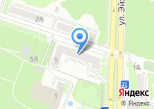 Компания «Банк Левобережный» на карте