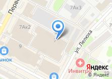 Компания «ТехМаш» на карте