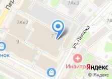 Компания «Чистые Пушистые» на карте