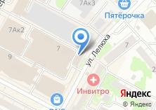 Компания «Твин» на карте