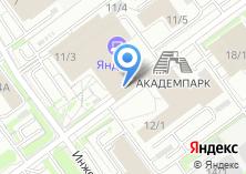 Компания «Сибирский НИИ Автоматизации и Управления» на карте