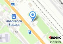 Компания «Фотон Ловол Новосибирск» на карте