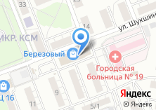 Компания «Строящееся административное здание по ул. Шукшина» на карте
