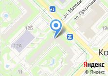 Компания «Инновационный центр Кольцово» на карте