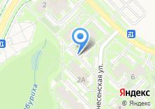 Компания «Магазин-мастерская ключей и замков на Вознесенской» на карте