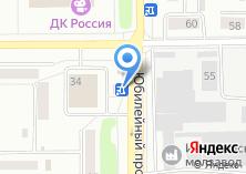 Компания «Золотой цыпленок» на карте
