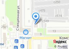 Компания «Строящийся жилой дом по ул. Комсомольская (г. Искитим)» на карте