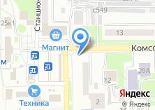 Компания «Удачный дачник» на карте