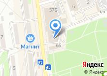Компания «Дуэт» на карте