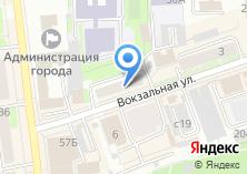 Компания «Телеспутник» на карте
