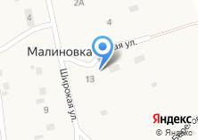 Компания «Продуктовый магазин на Новой (Малиновка)» на карте