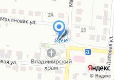 Компания «Ням-ням» на карте