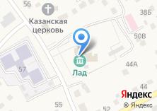 Компания «Микрорайон Октябрьский» на карте