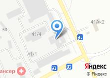 Компания «АЗДА» на карте