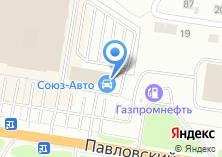 Компания «Союз-Авто» на карте