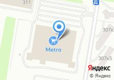 Компания «Metro Cash and Carry» на карте