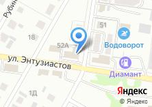 Компания «АлтайСтальКонструкция» на карте