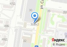 Компания «Автостоянка на Солнечной Поляне» на карте