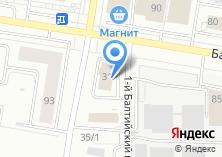 Компания «Строящееся административное здание по ул. Сиреневая» на карте