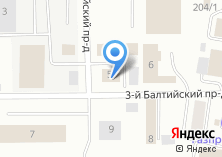 Компания «Технополис» на карте