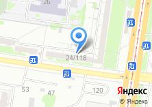 Компания «Авиафлот» на карте