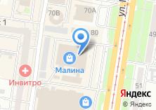 Компания «Цветочный салон» на карте