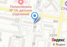 Компания «Почтовое отделение №58» на карте