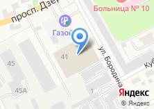 Компания «Техносервис плюс» на карте
