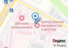 Компания «Краевая детская поликлиника» на карте