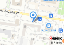 Компания «Балтийская жемчужина» на карте