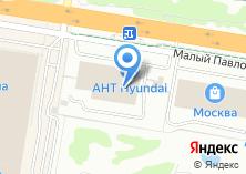 Компания «Citroen» на карте