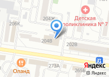 Компания «Краевой дворец молодежи» на карте