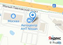 Компания «Автоцентр АНТ» на карте