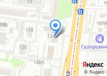 Компания «АлтайСнаб» на карте