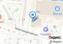 Компания «АВТОCAR» на карте